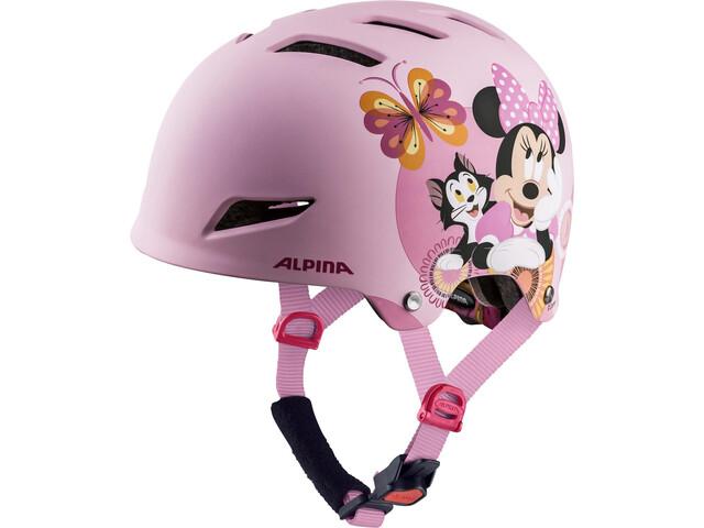 Alpina Park - Casque de vélo Enfant - rose/Multicolore